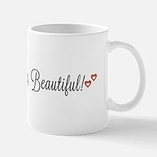 Good morning, Beautiful Small Small Mug