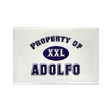 Property of adolfo Rectangle Magnet