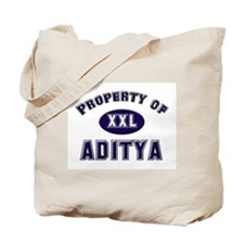 Property of aditya Tote Bag