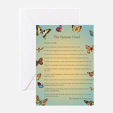 Optimist Creed Greeting Card
