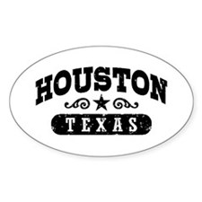 Houston Texas Decal