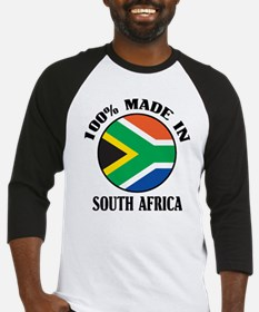 Made In South Africa Baseball Jersey