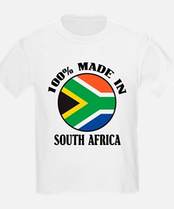 Made In South Africa Kids T-Shirt