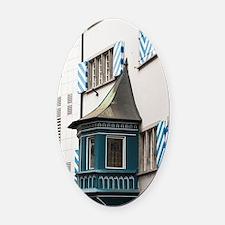 Zurich, Switzerland. Decorative ba Oval Car Magnet