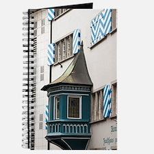 Zurich, Switzerland. Decorative balcony in Journal