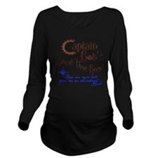 Never Lost II Long Sleeve Maternity T-Shirt