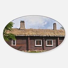 Where Linnaeus was born. The farm a Sticker (Oval)