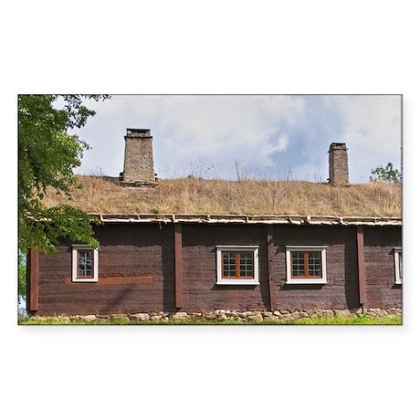 Where Linnaeus was born. The f Sticker (Rectangle)