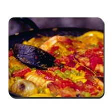 Spain, Andalucia, Nerja. Giant paella pa Mousepad