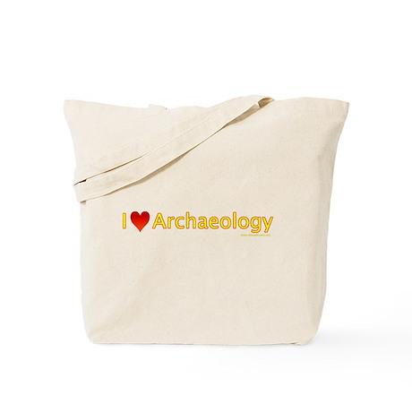 I Love (Heart) Archaeology Tote Bag