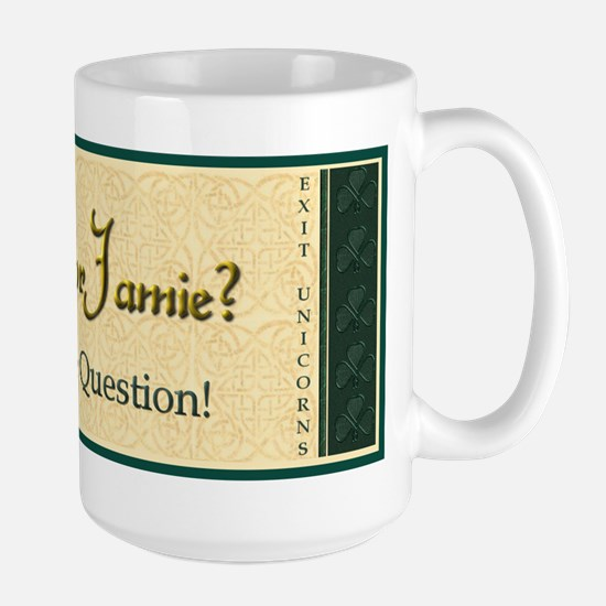 Casey or Jamie Large Mug