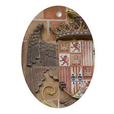 Spain, Castilla-La Mancha,Toledo. Ci Oval Ornament