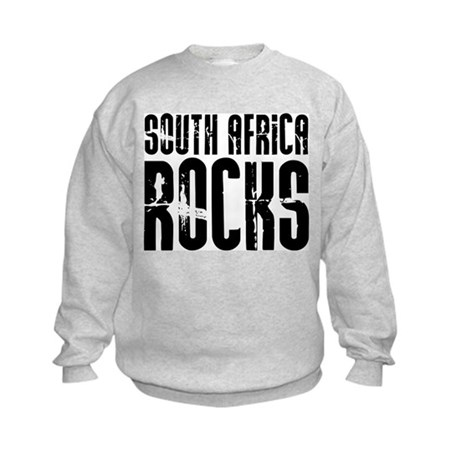 South Africa Rocks Kids Sweatshirt