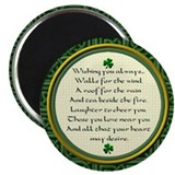 Irish Round Magnets