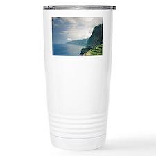 Portugal, Madeira, Seixal. Terr Travel Mug