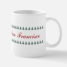 SanFrancisco_9.5x2_FeltChristmasStockin Mug