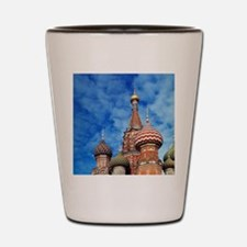 The ornate spires of St. Basil's Cathed Shot Glass