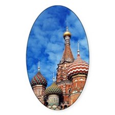 The ornate spires of St. Basil's Ca Decal