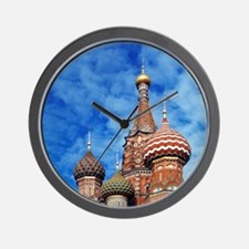 The ornate spires of St. Basil's Cathed Wall Clock