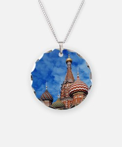 The ornate spires of St. Bas Necklace