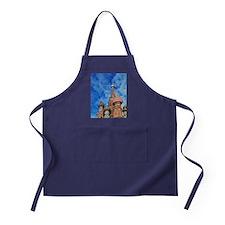 The ornate spires of St. Basil's Cath Apron (dark)