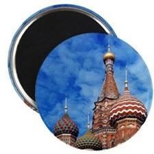 The ornate spires of St. Basil's Cathedral, Magnet
