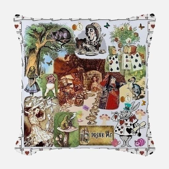 Wonderland Woven Throw Pillow