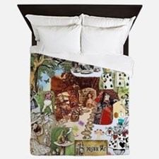 Wonderland Queen Duvet