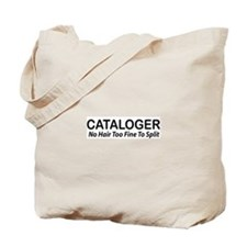 CATALOGER Tote Bag