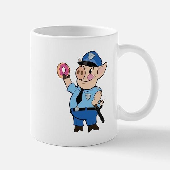 Cop Chops: Color Mugs
