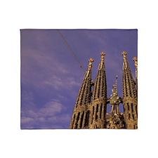 Sagrada Familia Cathedral (Antonio G Throw Blanket