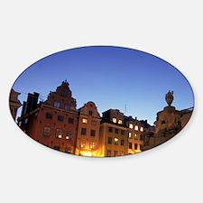Sweden, Stockholm. Stortorget Plaza Decal