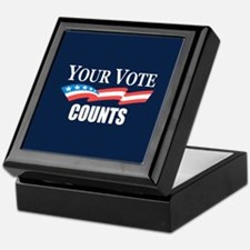 Your Vote Counts Keepsake Box