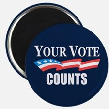 Your Vote Counts Magnets