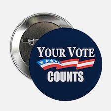 "Your Vote Counts 2.25"" Button"
