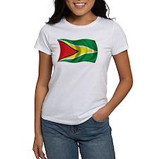 Wavy Guyana Flag Tee