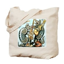 Funny Dillo Tote Bag