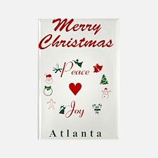 Atlanta_5x7_Christmas Stocking_Pe Rectangle Magnet