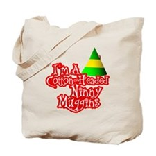 Cotton Headed Ninny Muggins BLK Tote Bag