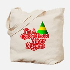 Cotton Headed Ninny Muggins BLK Tote Bag