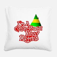 Cotton Headed Ninny Muggins B Square Canvas Pillow