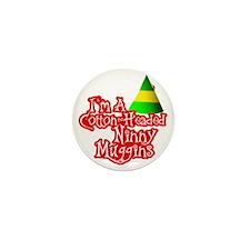 Cotton Headed Ninny Muggins BLK Mini Button
