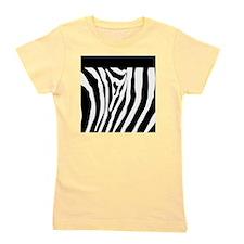 Trendy Zebra Stripe Nook Kindle Sleeve Girl's Tee