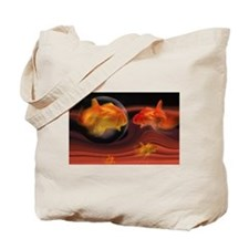 Goldfish Dilemma Tote Bag