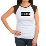 Emo Kid Emotional Label Women's Cap Sleeve T-Shirt