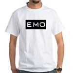 Emo Kid Emotional Label White T-Shirt