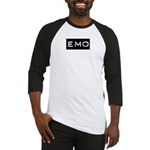 Emo Kid Emotional Label Baseball Jersey