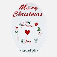 Philadelphia_5x7_Christmas Stocking_ Oval Ornament