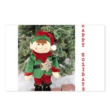 HAPPY HOLIDAYS ELF. Postcards (Package of 8)
