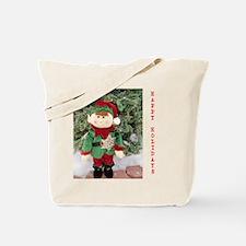 HAPPY HOLIDAYS ELF. Tote Bag